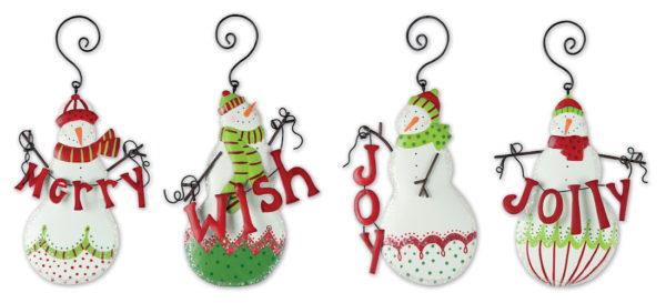 Christmas Snowman Ornament