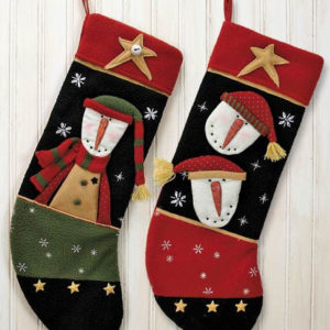 Snowman Stockings