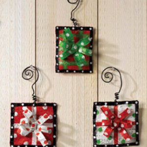 Gift Box Ornaments