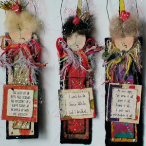 Handmade Friend Christmas Ornaments #2