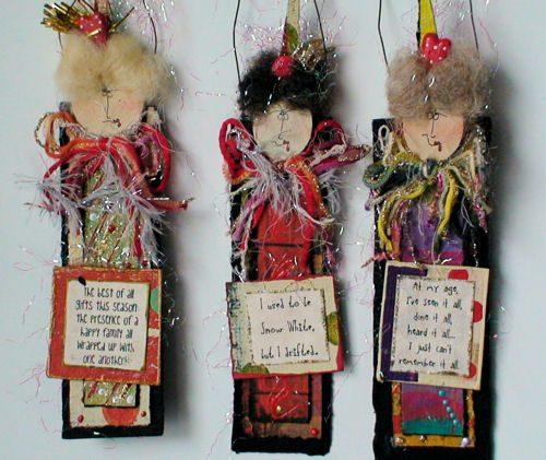 Handmade Friend Christmas Ornaments #2