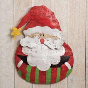 Roly Poly Santa Door Hanger