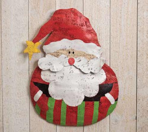$59.99 · Roly Poly Santa Door Hanger & Christmas Outdoor Decorations