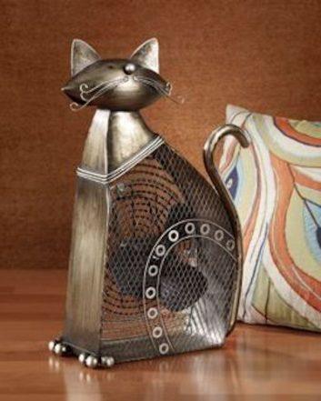 Funky Cat Shaped Fan