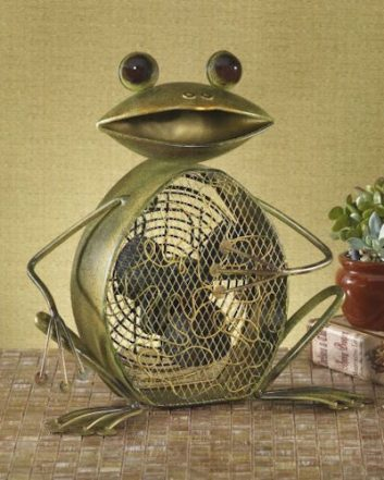 Funky Frog Shaped Fan