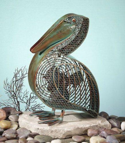 Funky Pelican Shaped Fan