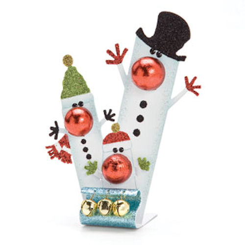 Snowman Family Christmas Ornament