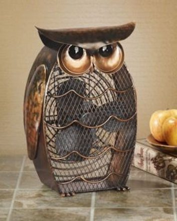 Funky Owl Shaped Fan