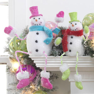 Poseablee Snowmen Decorations