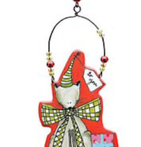 Joy and Peace Christmas Ornament