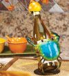 Figurine Blue Crab Bottle Holder