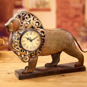 Funky Lion Clock