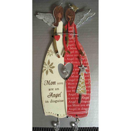 African American Mom Ornament