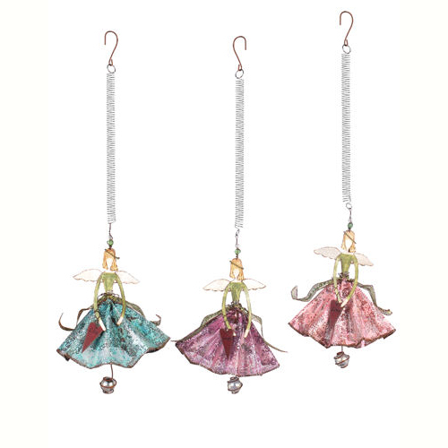 Bouncy Angel Princess Ornaments