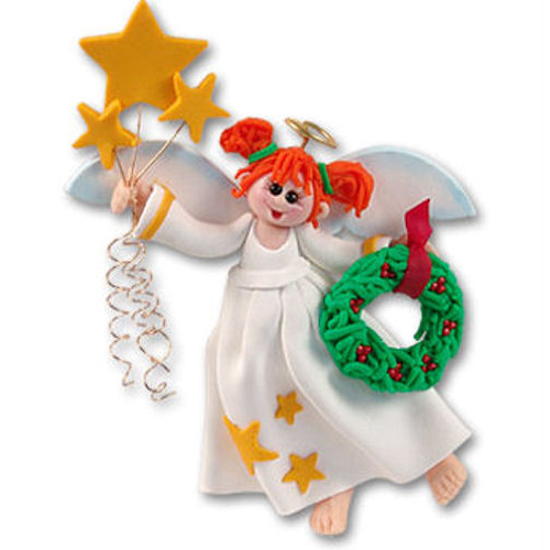 Angel with Wreath Ornament