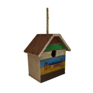 Antique Bureau Birdhouse