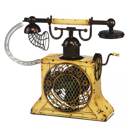 Antique Phone Shaped Fan