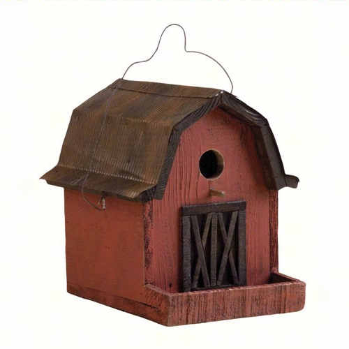 Barn Shaped Birdhouse