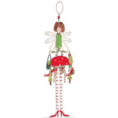 Large metal Bella Fairy Ornament