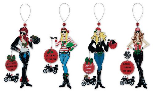 Biker Girls Ornament