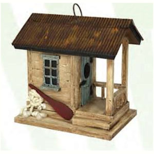 Boat Shack Shaped Bird House