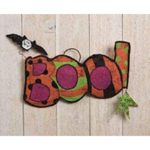 Boo Halloween Door Decoration