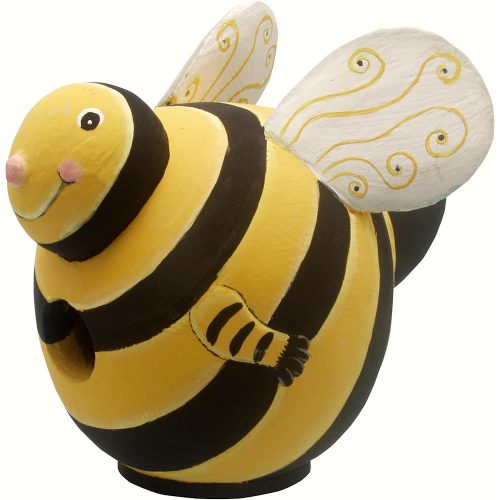 Bumblebee Shaped Birdhouse