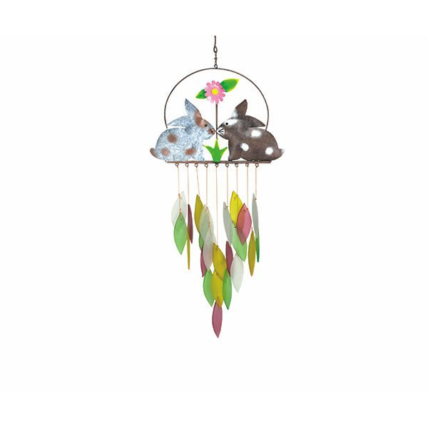 Bunnies Wind Chime