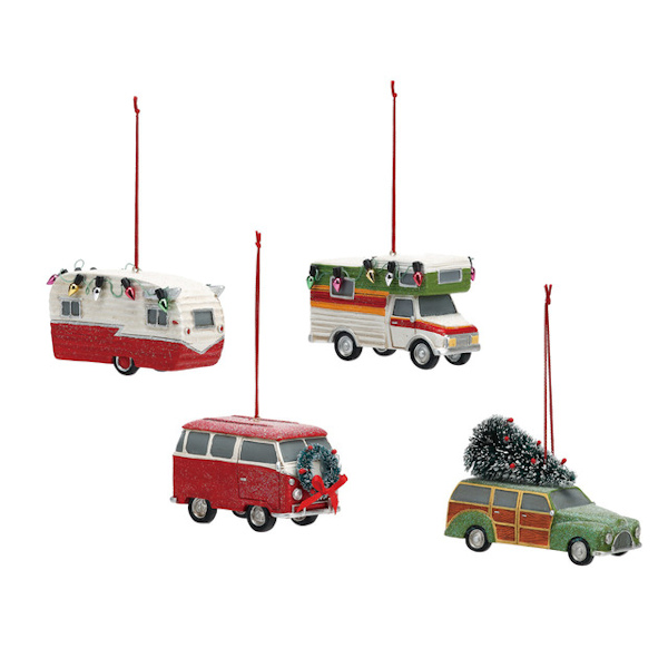 Camper Ornaments