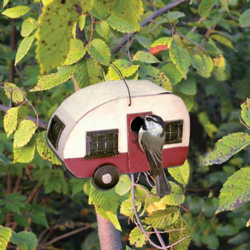 Camper Shaped Birdhouse