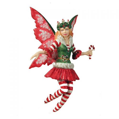 Candy Cane Fairy Christmas Ornament