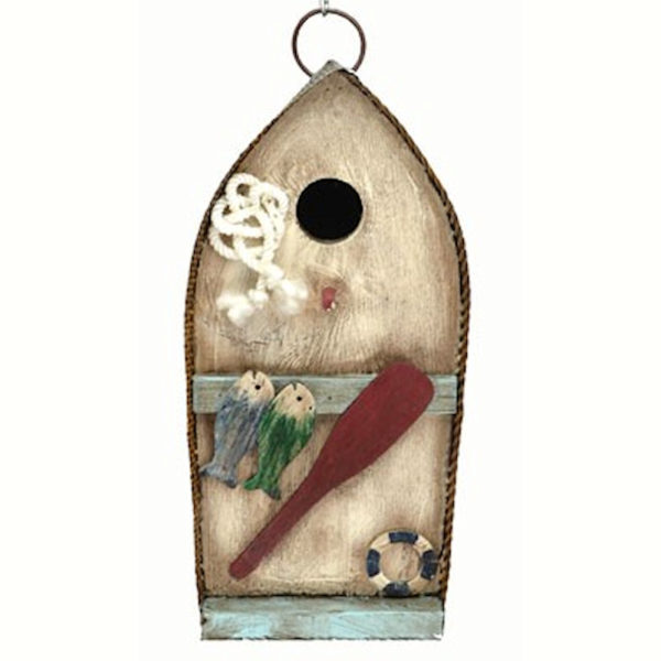 Canoe Shaped Birdhouse