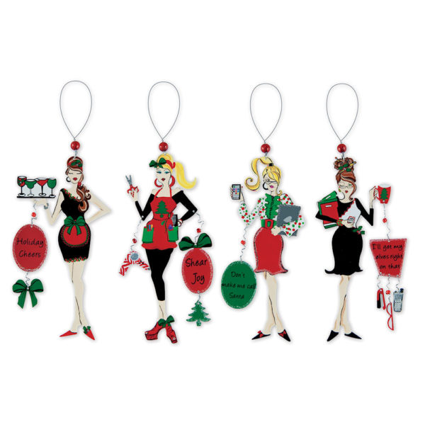 Cheers Friend Christmas Ornaments