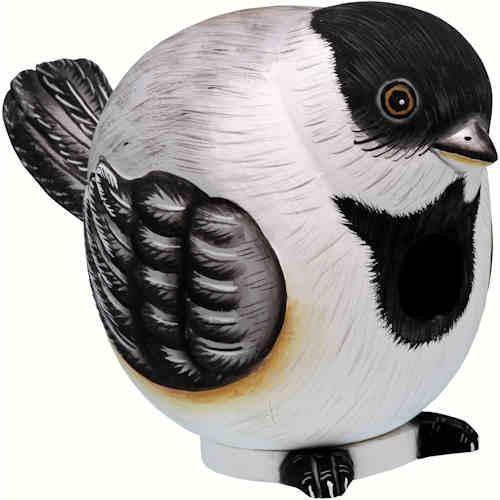 Chickadee Shaped Birdhouse