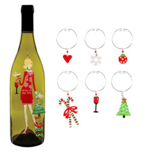 Christmas Diva Ornament and Charms