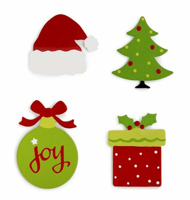 Four different Christmas Magnets