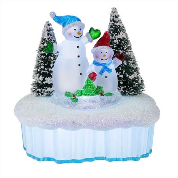 Christmas Snowmen Night Light