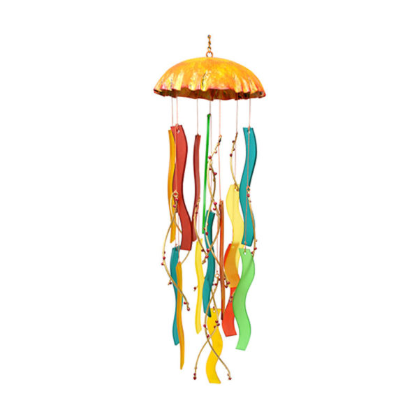 Coral Jellyfish Wind Chime
