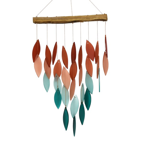 Coral Ombre Waterfall Chime