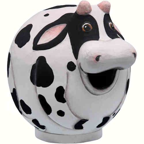 Cow Gourd Shaped Birdhouse