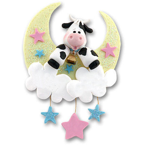 Cow Jumping Over The Moon Ornament