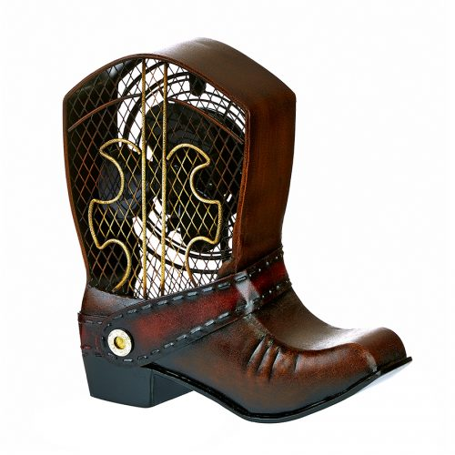 Cowboy Boot Shaped Fan