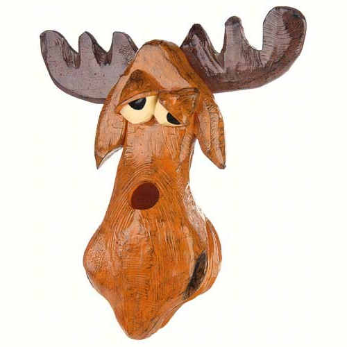 Cute Moose Shaped Birdhouse