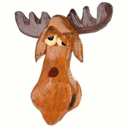 Cute Moose Shaped Birdhouse