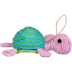 Cute Turtle Yarn Ornament