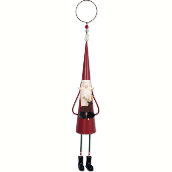 Dangling Legs Santa Ornament