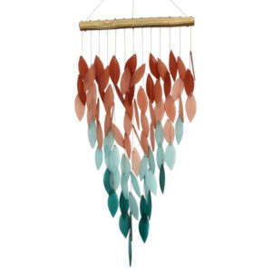 Deluxe Coral Ombre Waterfall Chime