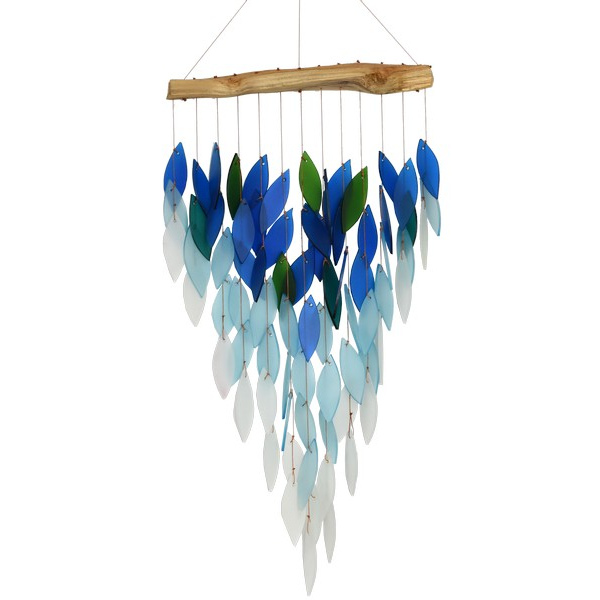 Deluxe Ombre Blue Waterfall Chime