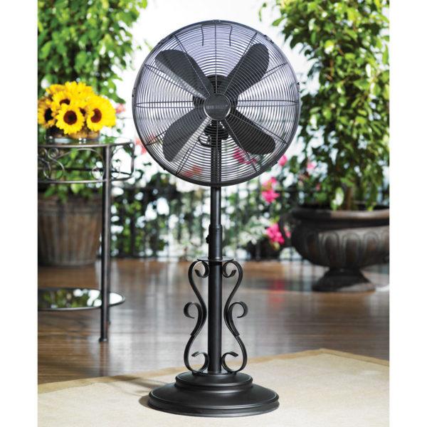 Ebony Outdoor Fan