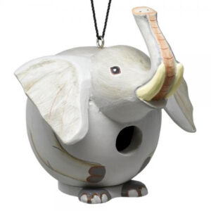 Elephant Shaped Birdhouse
